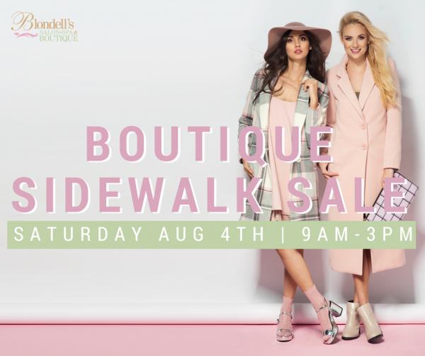 Blondells-BoutiqueSidewalkSale