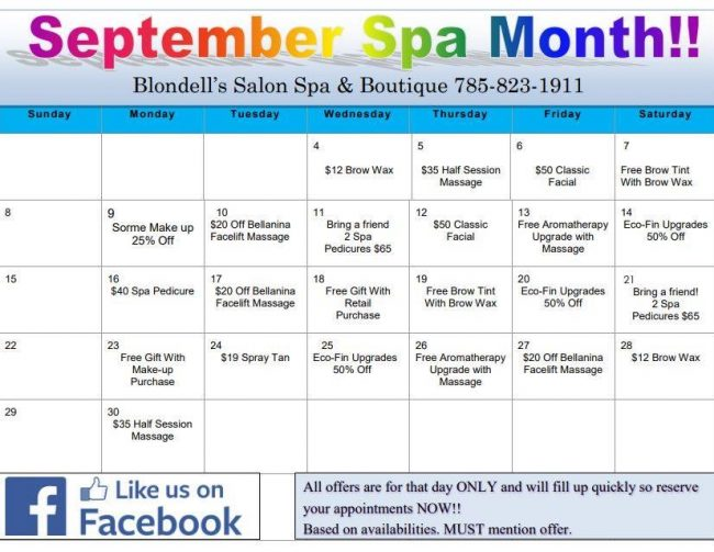 Blondells-Spa-Calendar